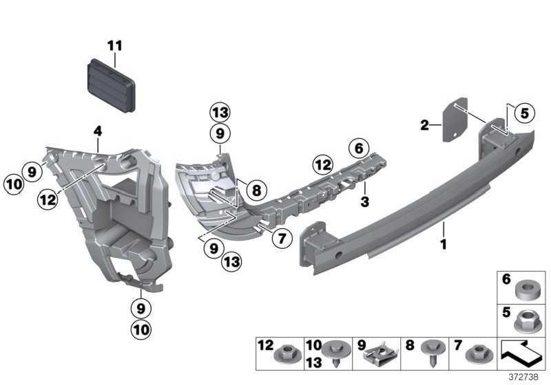 Aufnahme Stossfänger Mitte hinten links  X3  (51127239883)