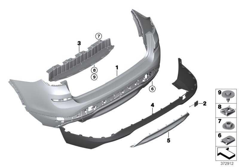 Unterfahrschutz grundiert hinten X-LINE X3  (51127413497)