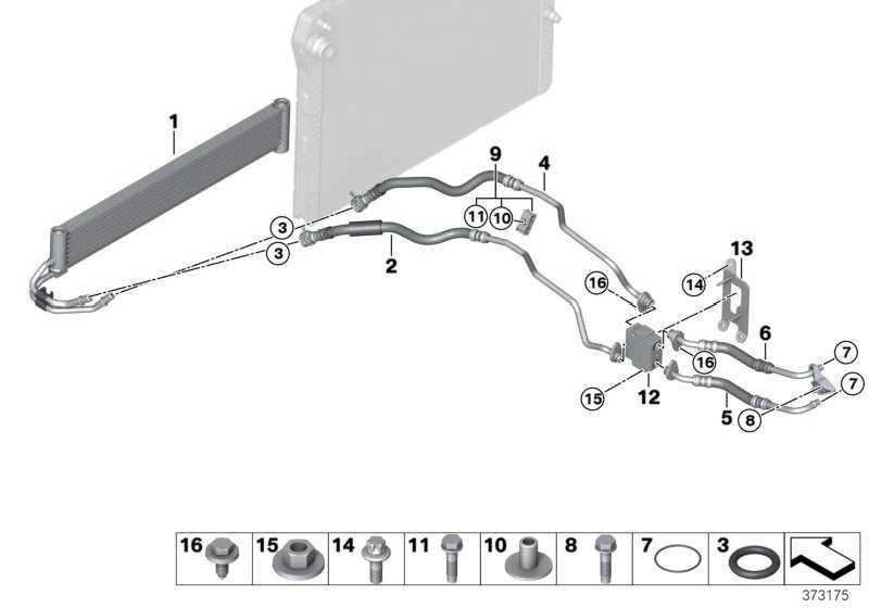 Getriebeölkühler  3er 4er  (17112284503)