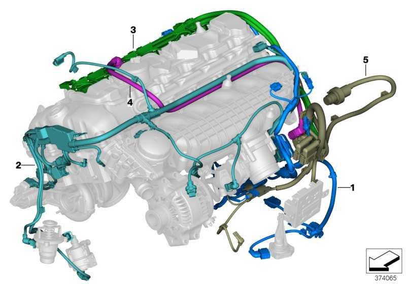Kabelbaum Motor Valvetronic-Stellmotor  3er 4er  (12517849627)