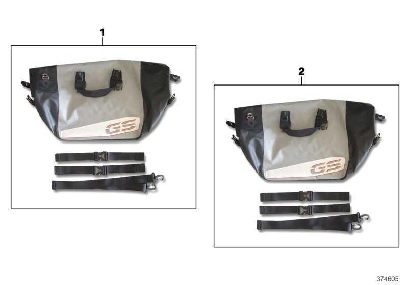Innentasche Aluminiumkoffer rechts   (77418543199)