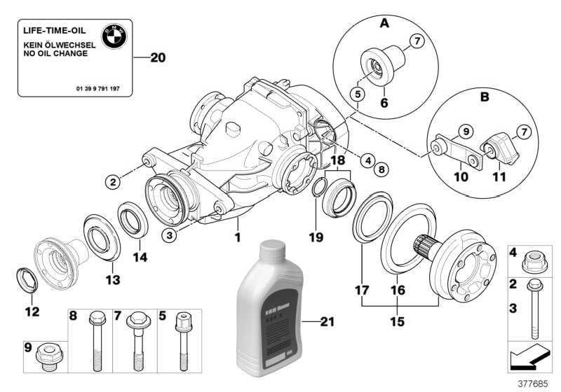 Hypoid Axle Oil G1 3 X 0,5L 1er 2er 3er 4er 5er 6er 7er X1 X3 X4 X5 X6 Z4 MINI  (83222295532)