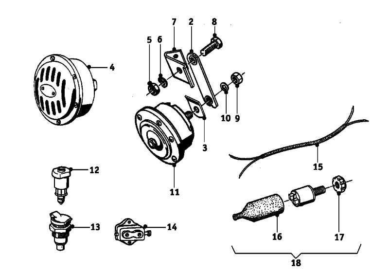 Bremslichtschalter  R R50/5-R90S  (61311351662)