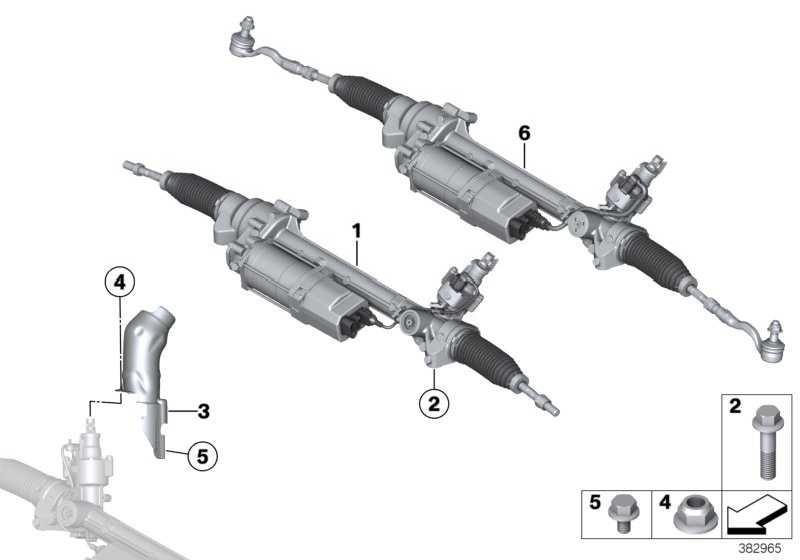 Austausch Lenkgetriebe elektrisch  X3  (32106875240)