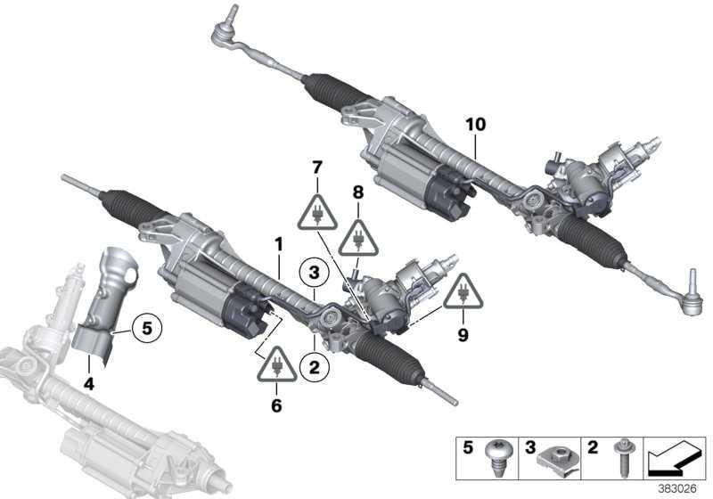 Austausch Lenkgetriebe elektrisch 24V             5er 6er 7er  (32106865439)