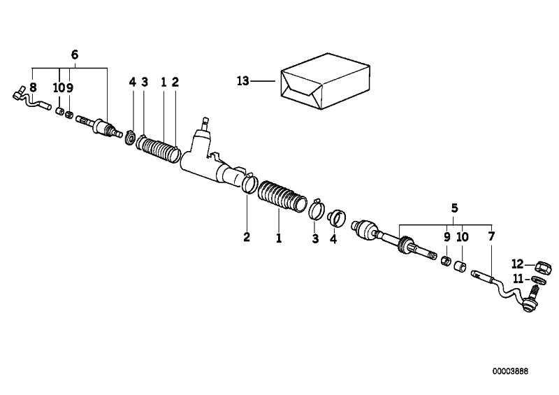 Sechskantmutter M14X1.5         3er 5er Z3  (32111136494)