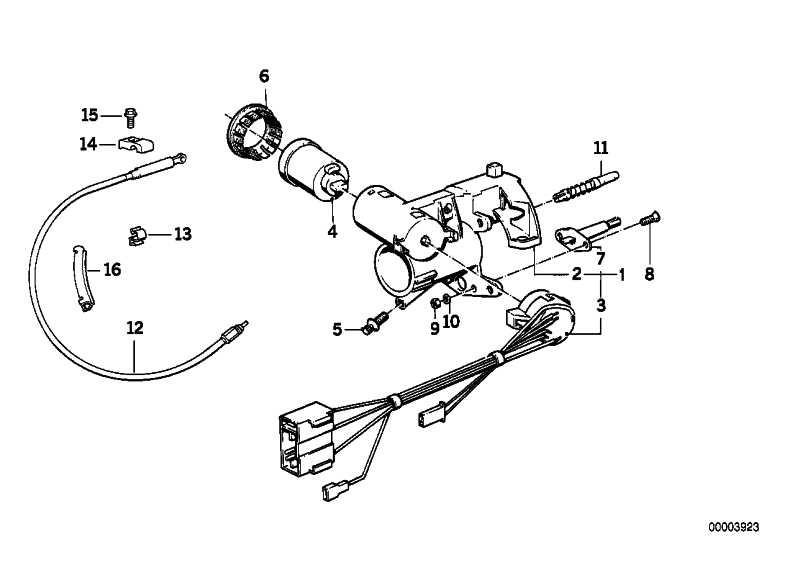 Schliesszylinder mit Schlüssel  3er 5er 6er  (32321152474)