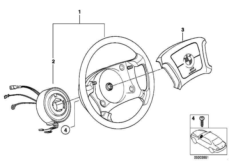 Lenkrad Leder Airbag  5er 8er  (32341162110)