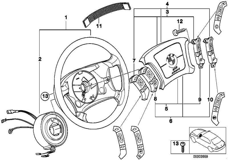 Schalter Geschwindigkeitsregelung/Umluft  7er 5er X5 X3  (61316922854)