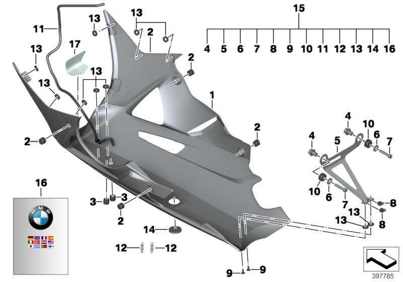 Motorspoiler CFK              (46638531281)
