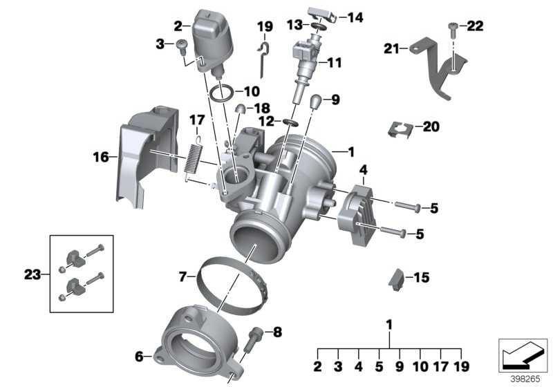 Ansaugstutzen D=44,8 K25 K26 K27 K21   (11617710875)