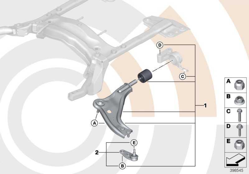 Reparatursatz Querlenker rechts VALUE LINE MINI  (31122361222)