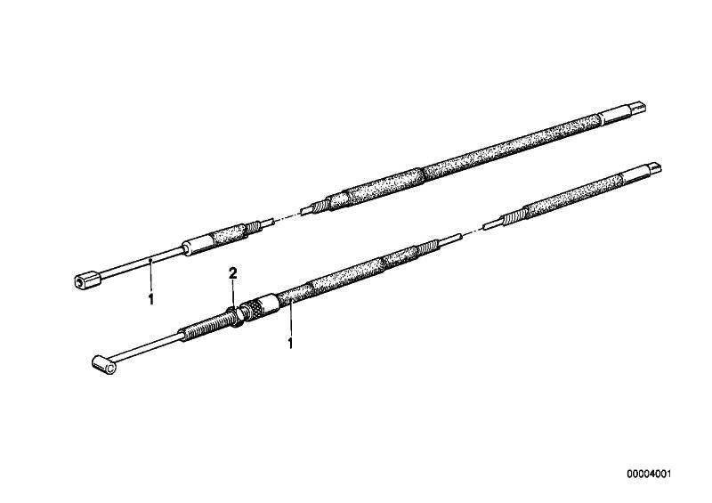 Gaskabelzug  R R50/5-R90S  (32731236611)