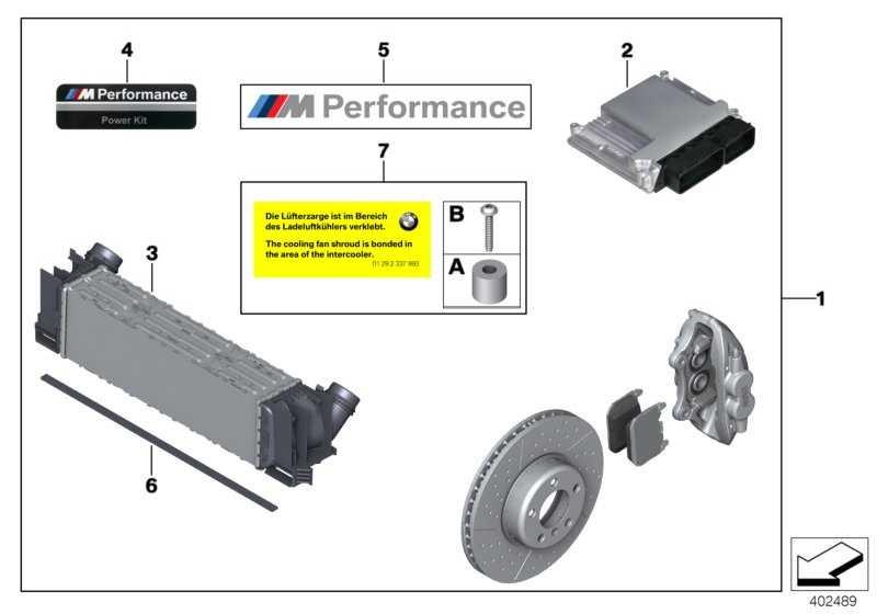 Power Kit M PERFORMANCE 3er 4er  (11122286239)