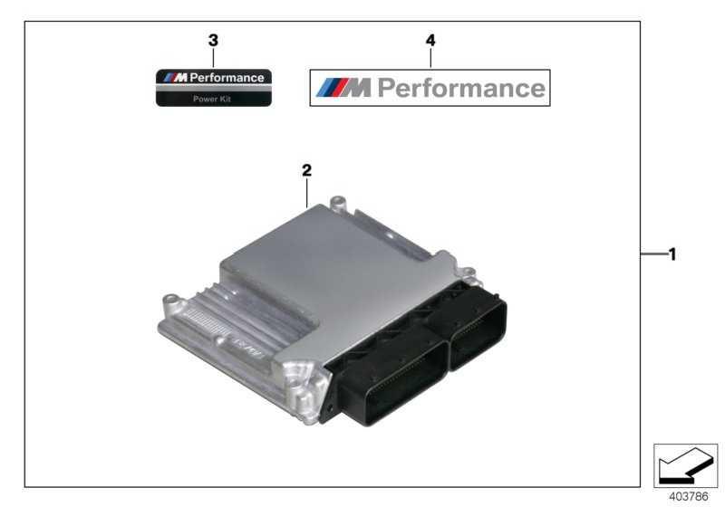 Grundsteuergerät DDE M Performance M PERFORMANCE X3 X4 X5 X6  (13618576553)