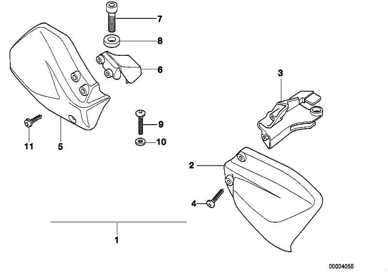 Nachrüstsatz Handschutz   (71602340208)