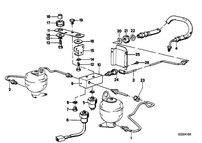 Rohrleitung M10/M10-751MM    3er 5er 6er 7er X5 Z1 Z3  (34326755591)