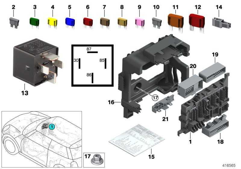 Sicherungsträger  MINI 2er X1  (61149270357)