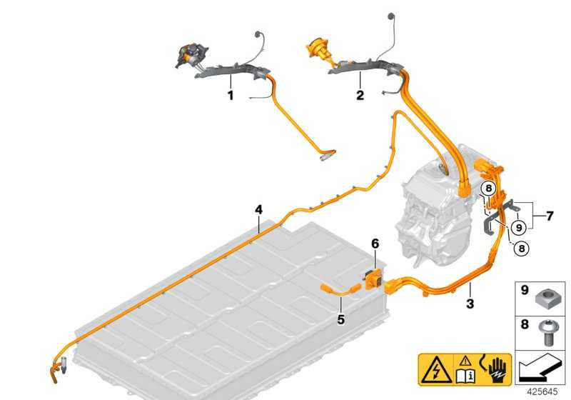 HV-Kabelsatz Kombo-Ladedose AC 7 KW i3  (61126809271)