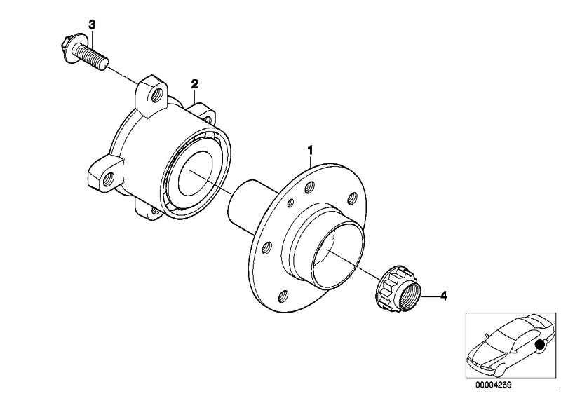 Schraube Aussentorx M12X1,5X35 ZNS3 5er 6er 7er X5  (33406765432)