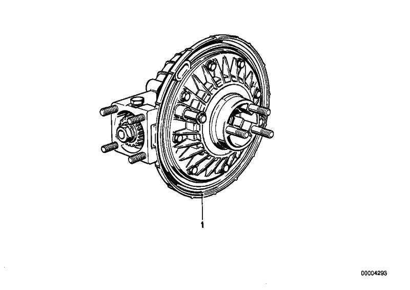 Hinterachsgetriebe I=32:10=3,20     (33112302422)