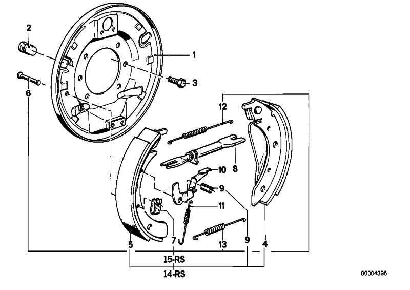 Reparatursatz Federn  3er 5er  (34219064272)