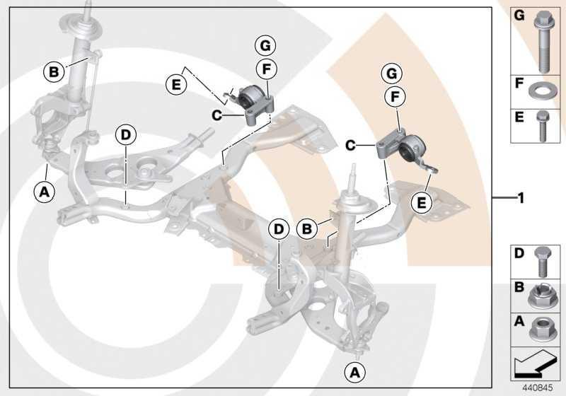 Reparatursatz Gummilager Querlenker VALUE LINE MINI  (31122407655)