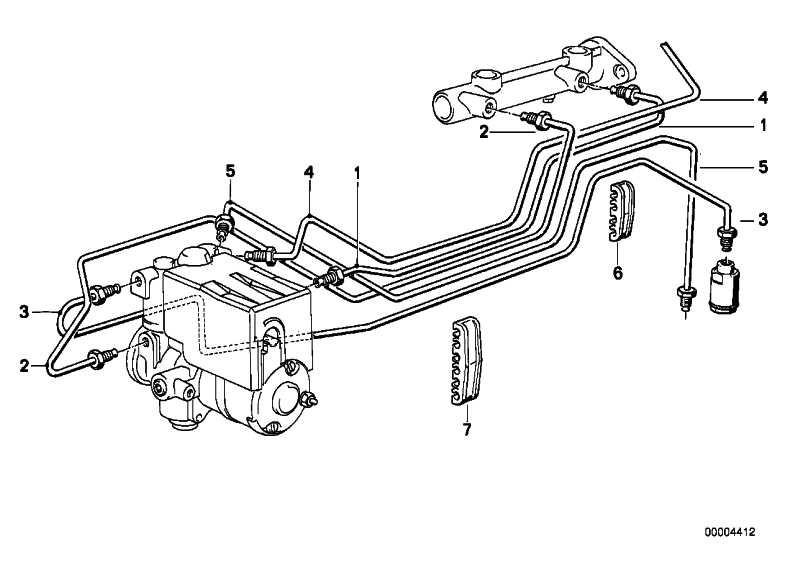 Rohrleitung M10/M10-1012MM   3er 5er 7er 8er  (34326755604)