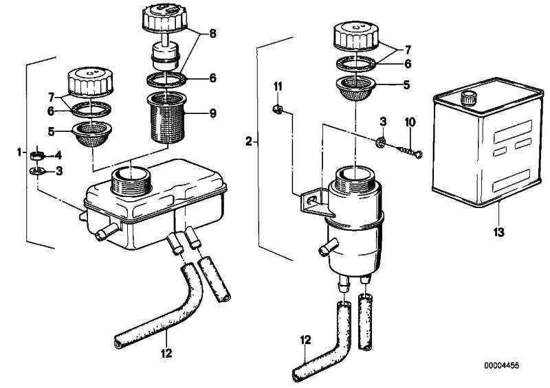 Ausgleichsbehälter  5er 6er  (34321114907)