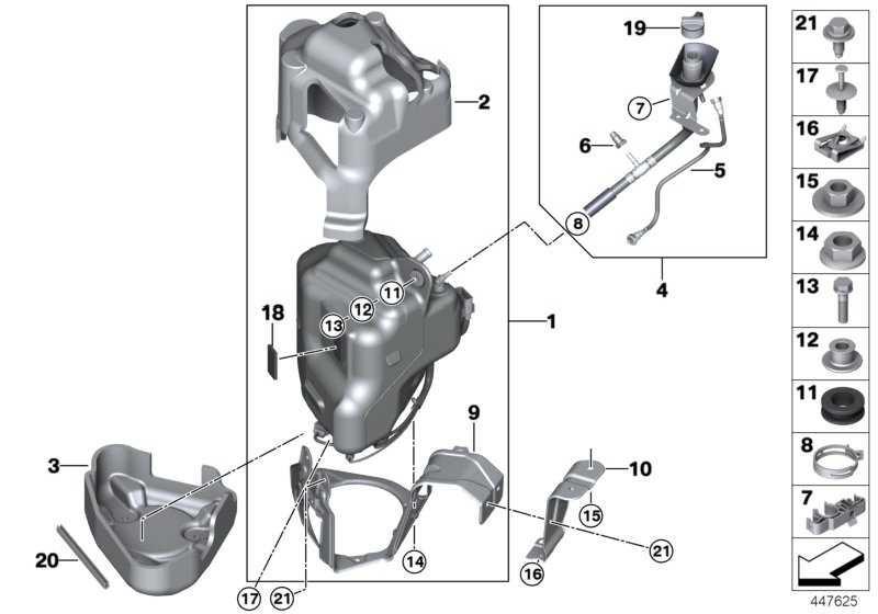 SCR-Behälter aktiv  X5 X6  (16197295653)