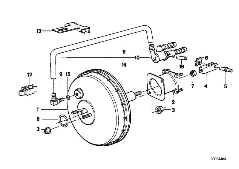 Bremskraftverstärker GIRLING         5er 7er  (34331160625)