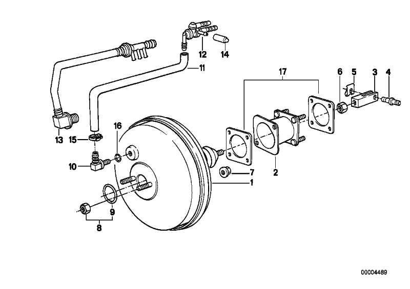 Bremskraftverstärker ATE             3er 5er Z1  (34331157416)