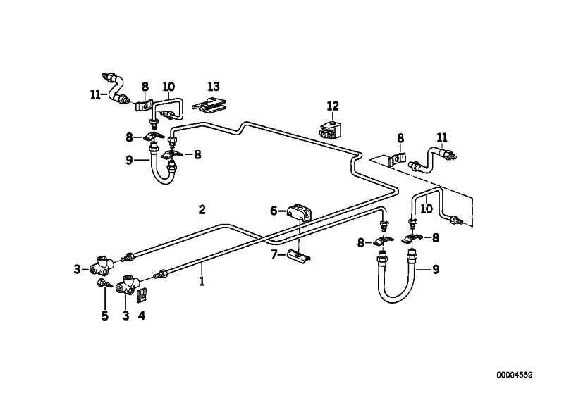 Rohrleitung M10/M10-2935MM  5er 7er  (34326755679)
