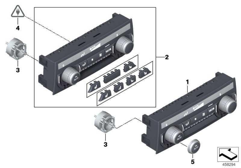 Reparaturset Drehsteller  7er 5er 6er X5 X6  (61319393931)