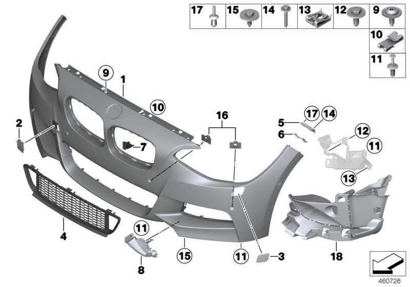 Abdeckung Scheinwerferwaschanlage, links M 1er  (51118064579)