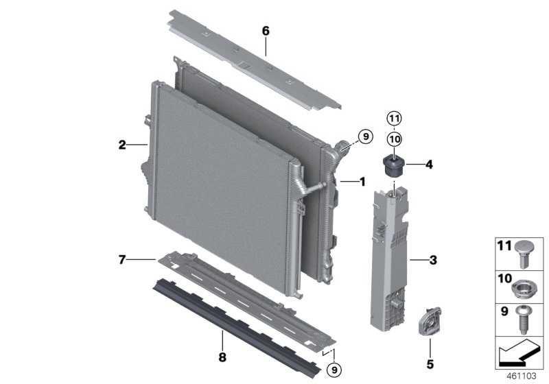 Kühlmittelkühler  3er  (17118625430)