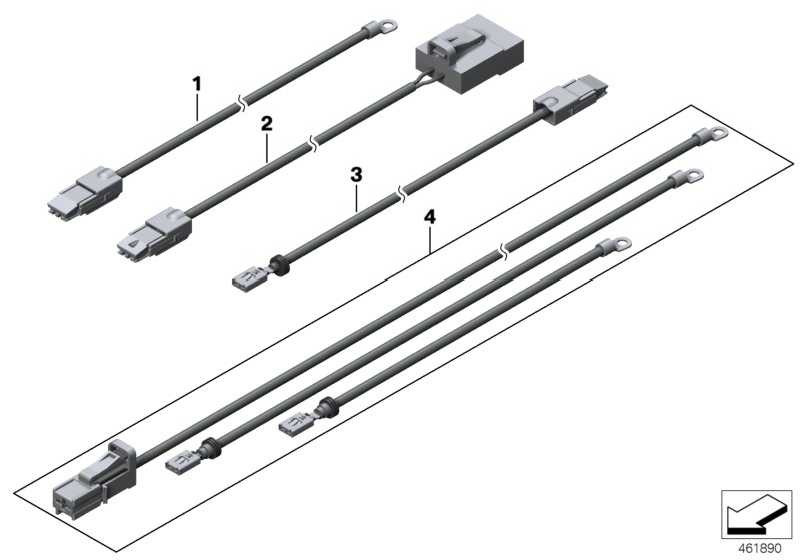 Stromversorgungskabel E-Lüfter 850W            X5 X6  (61119297770)