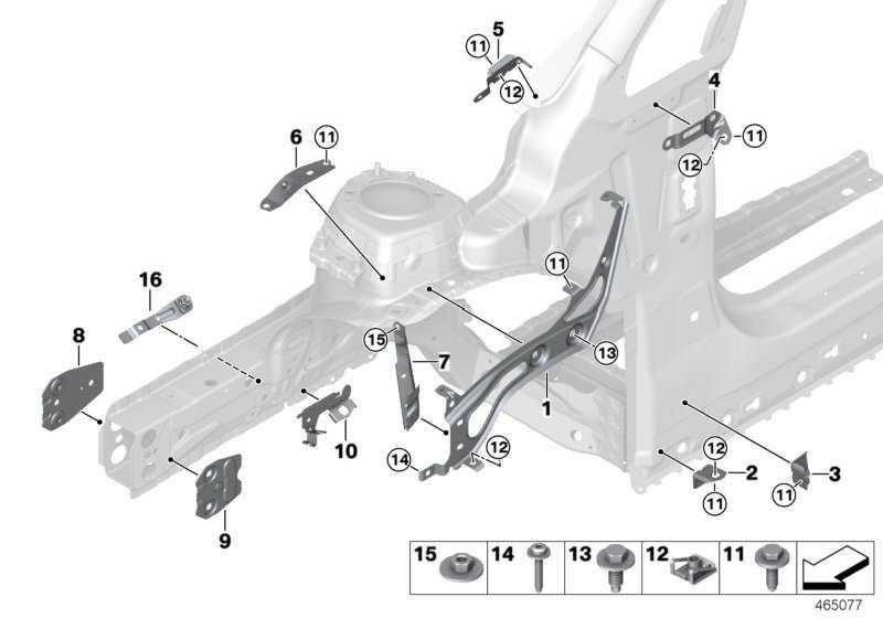 Verlängerung Stützträger Radhaus rechts  2er  (41007408658)