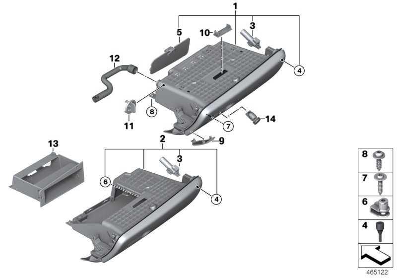 Dämpfer Handschuhkasten  MINI  (51169281574)