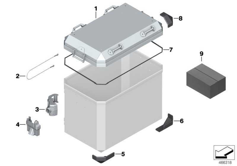 Kofferdeckel komplett   (77418543990)