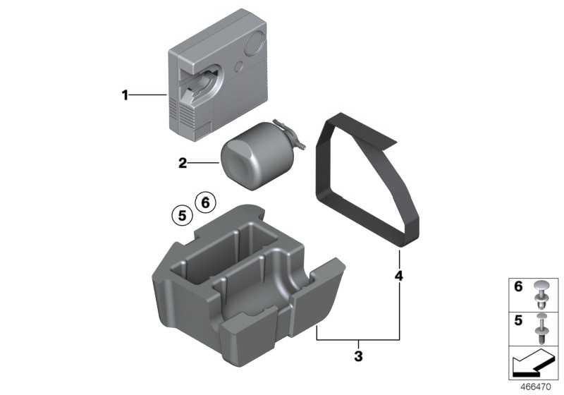 Ablage Mobility System  3er  (71106794838)