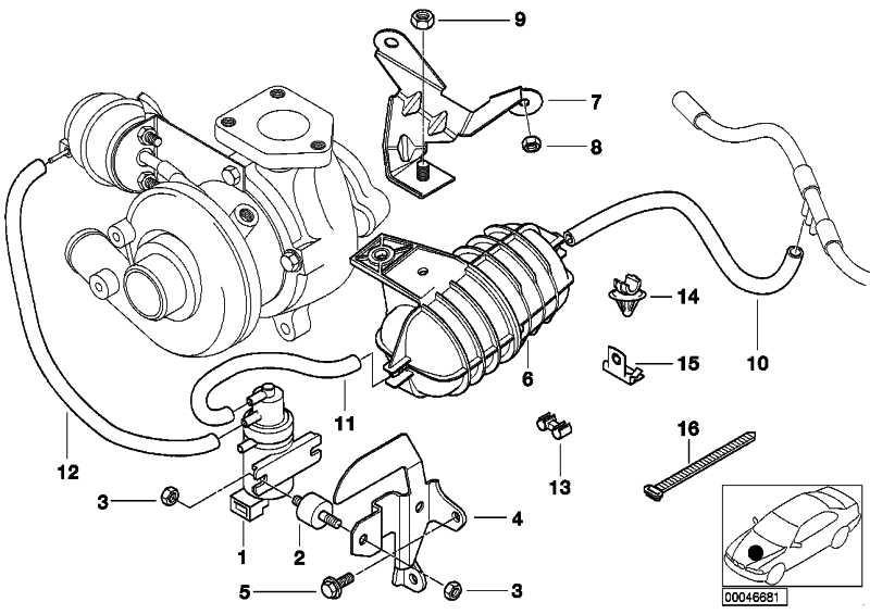 Dämpfer Injektorleitung  3er 5er 7er X5  (13532354031)