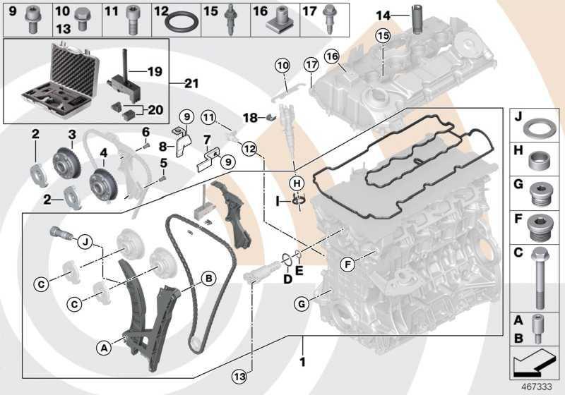 Reparatursatz offene Steuerkette oben VALUE LINE 3er Z4 X3 1er  (11312420018)