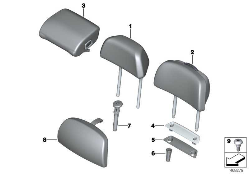 Komfortkissen Kopfstütze COGNAC 7er  (52207416165)