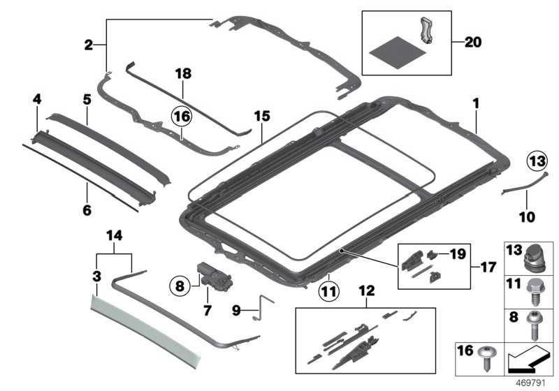 Rahmen Panoramadach  X5  (54107198763)