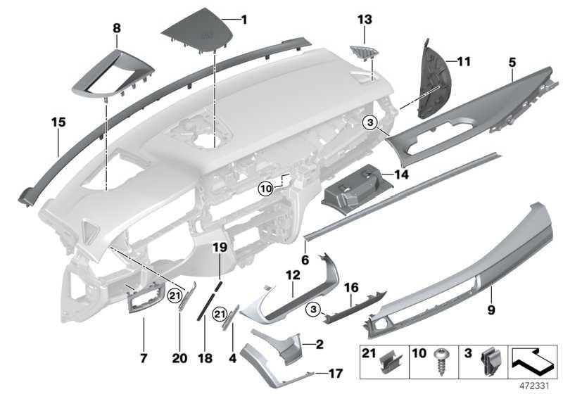 Lautsprecherblende SCHWARZ/SCHWARZ X5  (51459281640)