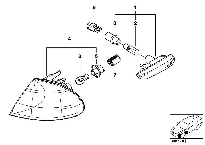 Universal-Buchsengehäuse uncodiert 2 POL.          1er 3er 5er 6er 7er X5 X6 MINI  (61138373332)