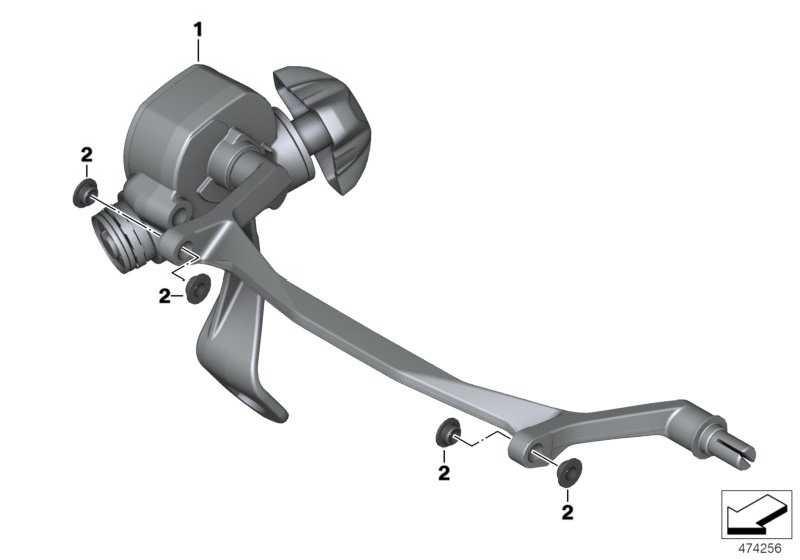 Handrad mit Getriebe und Welle   (46638536083)