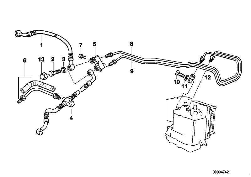 Bremsschlauch ABS              (34322331049)