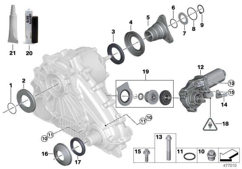 Reparatursatz Stellmotor VALUE LINE X5 X3 X6 3er  (27102413711)